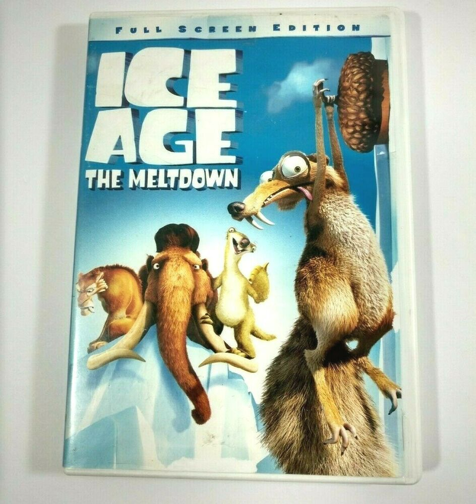 Ice Age The Meltdown Dvd 2006 Full Screen No Time For Nuts Scrat Short Games Iceage Ice Age Meltdowns Short Game