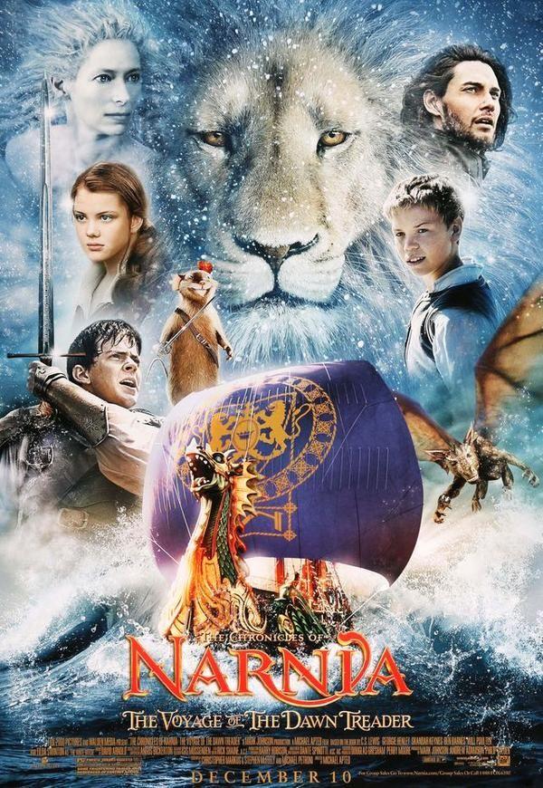 Chronicles Of Narnia The Voyage Of The Dawn Treader 2010 Narnia Le Monde De Narnia Film Fantastique