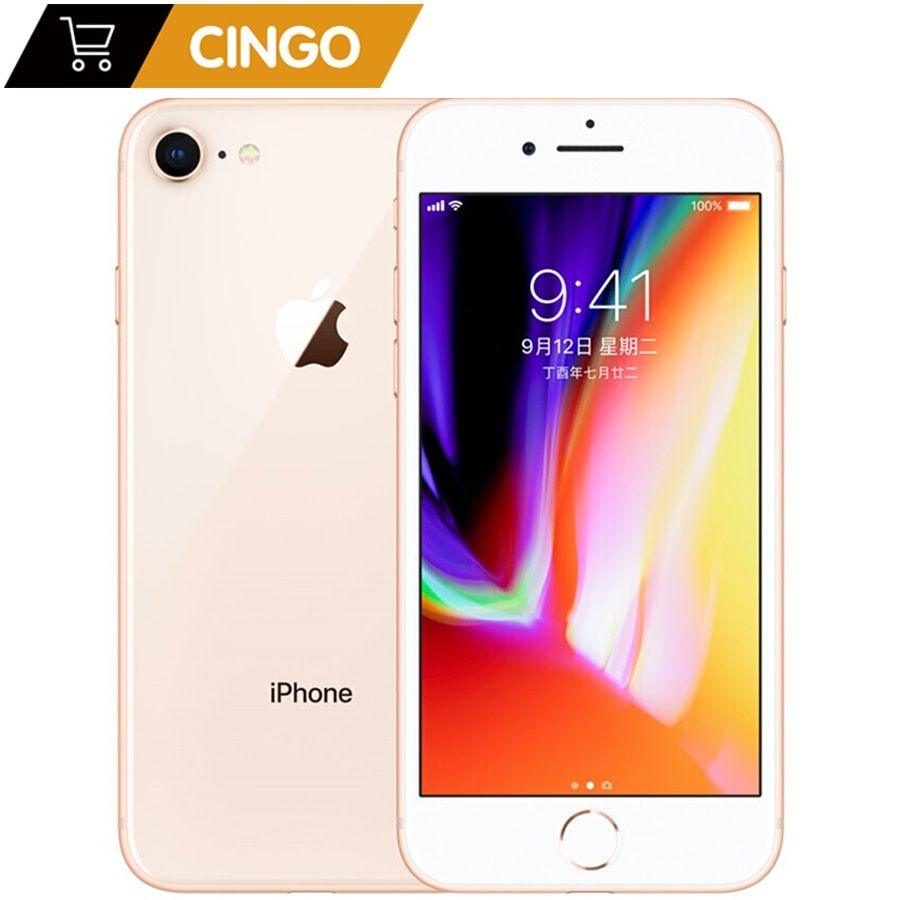 Original Apple Iphone 8 Hexa Core 1821mah Ram 2gb Rom 64gb 256gb 3d Touch Id 4 7 Inch 12mp Lte Fingerprint Phone Iphone8 Iphone Apple Iphone Iphone 8