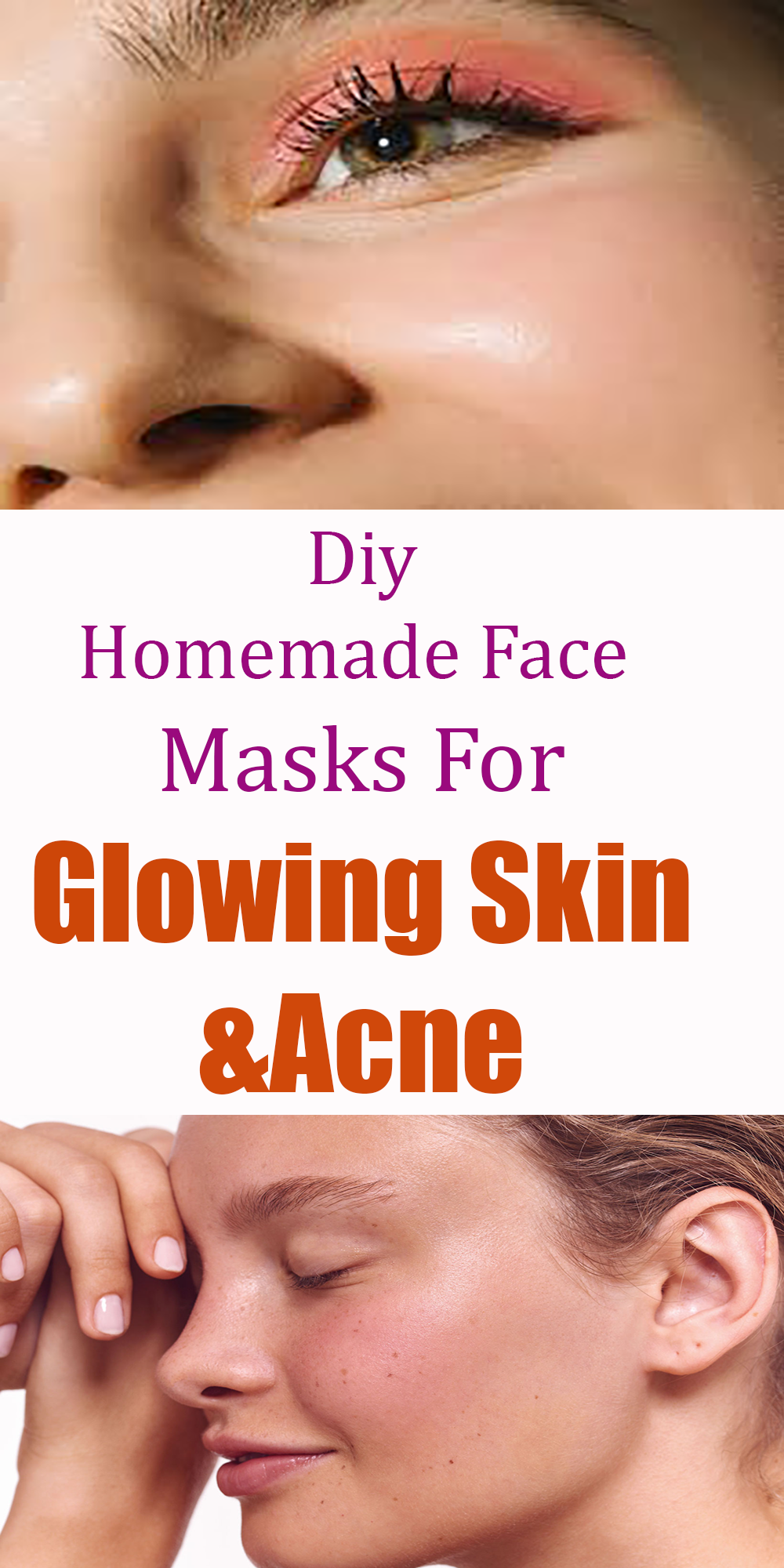 Diy Homemade Face masks For Glowing Skin & Acne in 2020