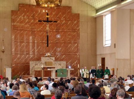 last Mass at Christ the King Church on Noble Road in East Cleveland ...