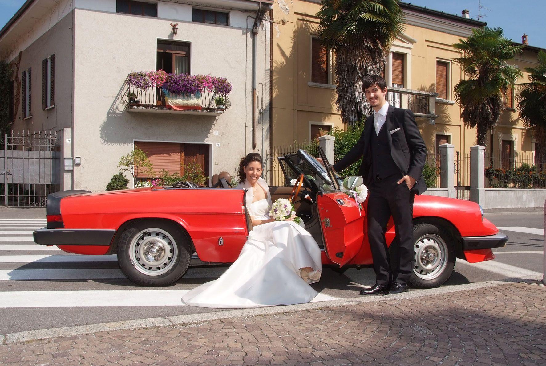 wedding Alfa Romeo Coda Tronca Slow Drive Vintage car rental ...