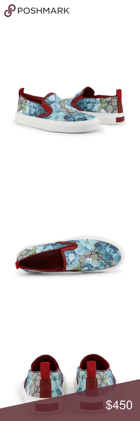 24f040560 NWT Gucci Supreme GG Canvas Bloom Slip On Sneakers 100% Authentic Gucci  Womens Supreme GG