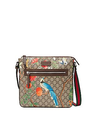 ebfe18be5e9 Gucci Tian GG Supreme Messenger Bag - Beige- - Size No Size ...