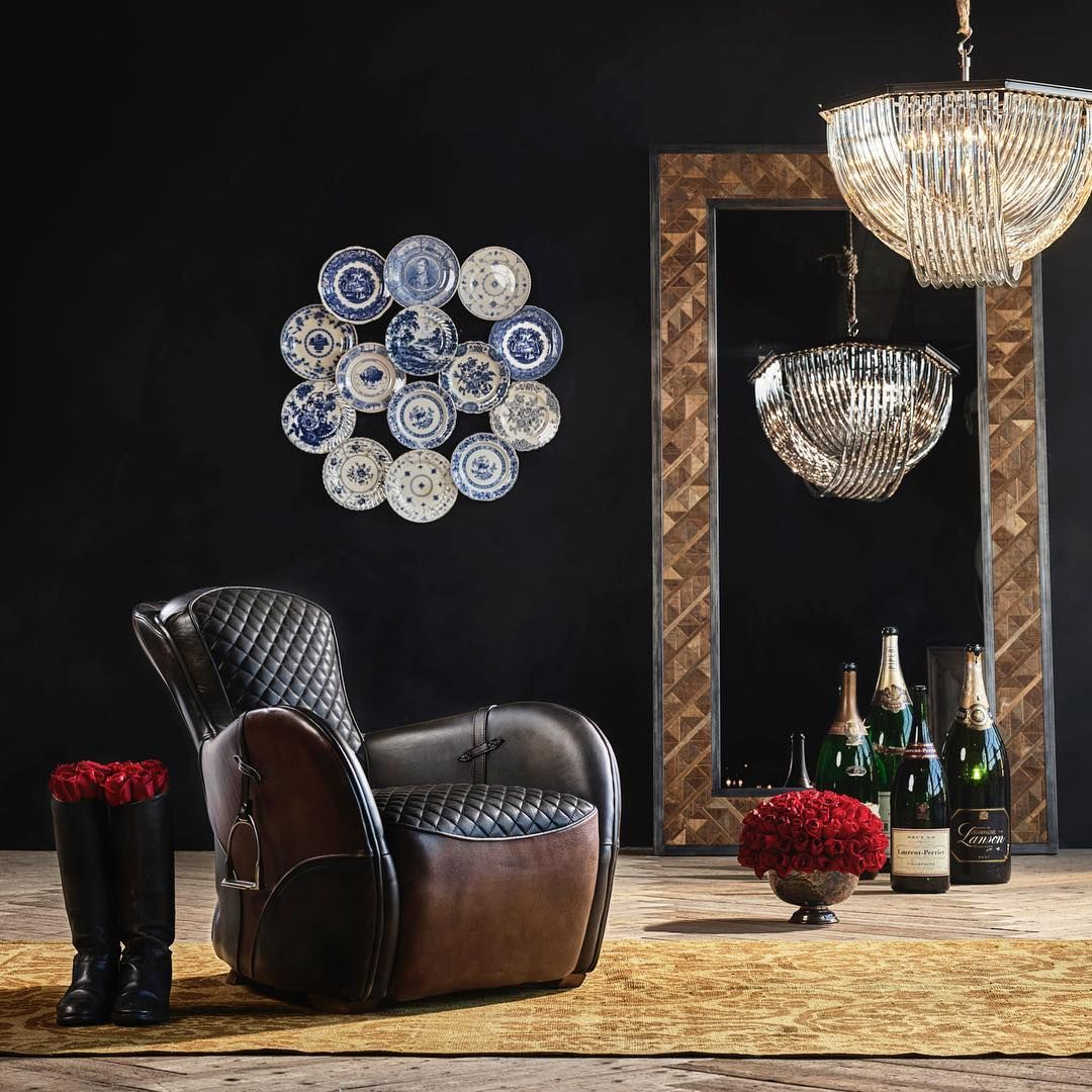 An Ode To Equestrian Heritage The Saddle Chair Evokes The