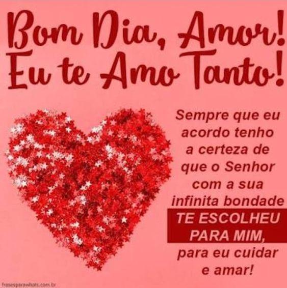 Imagens De Bom Dia Amor Bom Dia Amor Mensagem De Amor Verdadeiro
