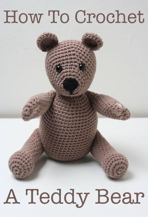 Free Crochet Teddy Bear Pattern Pinterest Crochet Teddy Bear