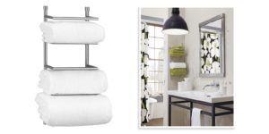 Towel Shelf For Bathroom Wall