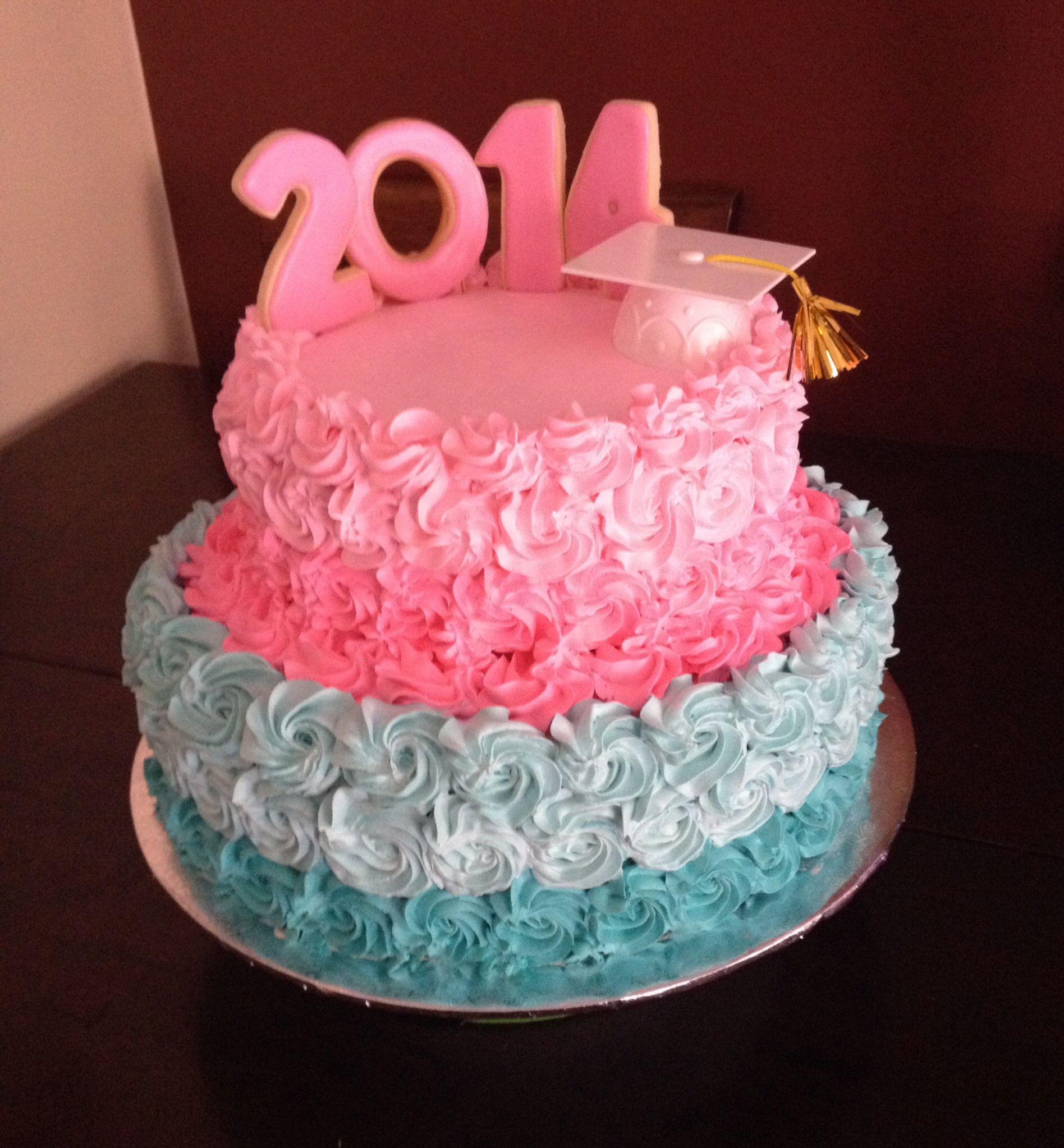 Graduation Rose Cake