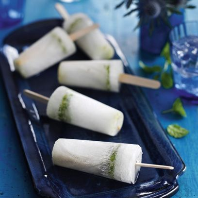 Mojito ice lolly | Summer Recipes - Red Online