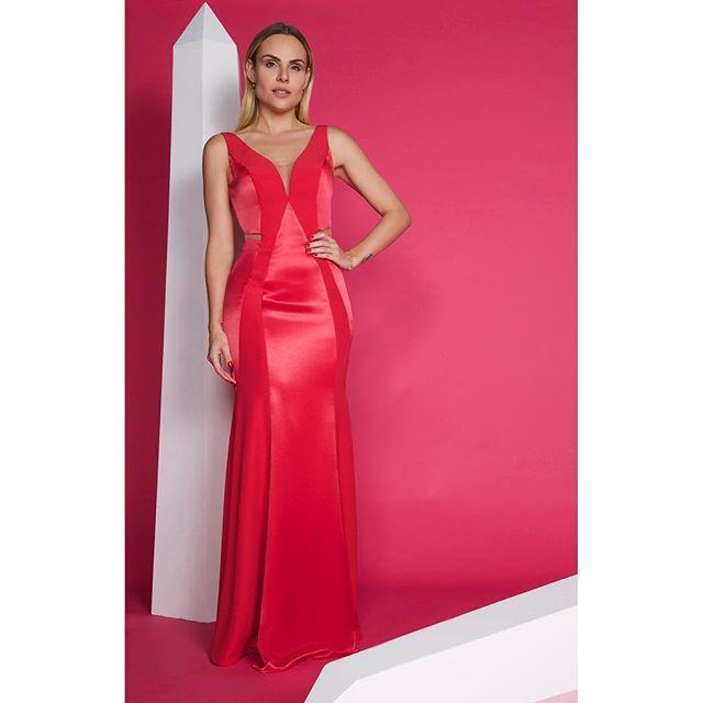 Vestido Fenda Tello » VESTIDOS DE FESTA   Prom   Pinterest   Prom