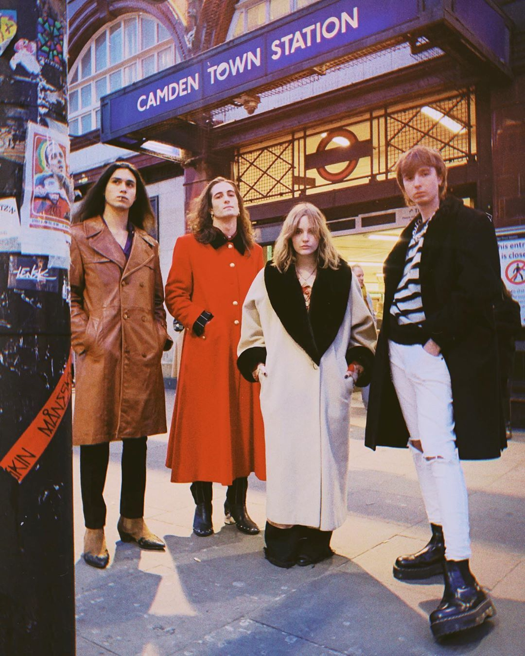 Maneskin On Instagram London Music Walk Of Fame One Day Our Name Will Be There