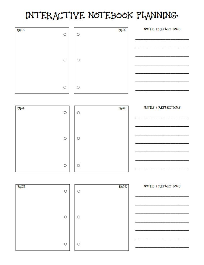 Interactive Notebook Pdf