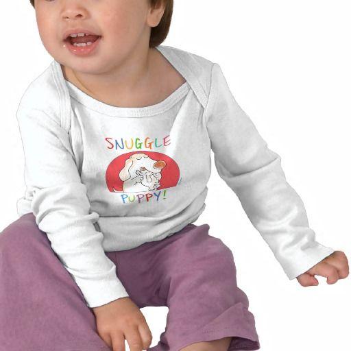 SNUGGLE PUPPY! by Sandra Boynton Tee Shirts.  $18.95
