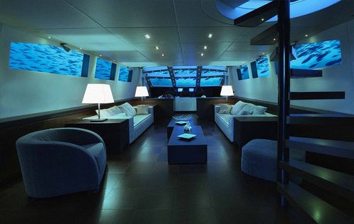 real underwater hotel. Lovers Deep Is A Complete Experience Aboard Leisure Submarine, Staffed By Personal Team. You Choose Where To Dive And Dock In The Gorgeous Waters Of Real Underwater Hotel