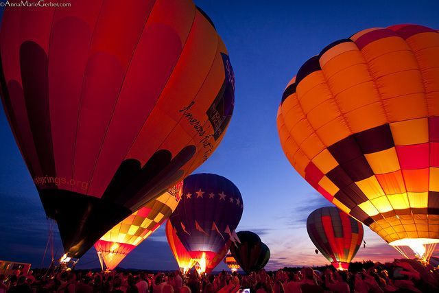 Hot Springs Hot Air Balloon Festival