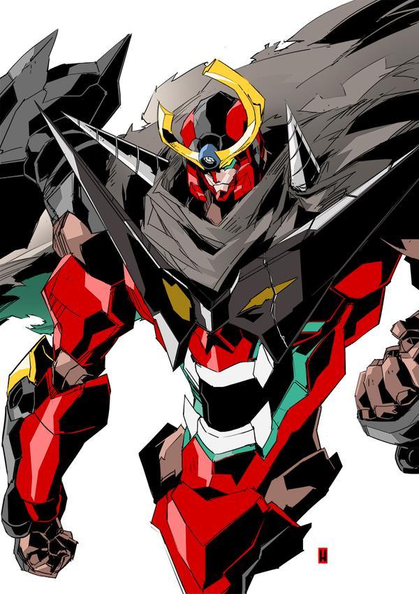 Gurren Lagann Exile By The Hary On Deviantart Gurren Lagann Mecha Anime Gurren Lagann Kamina