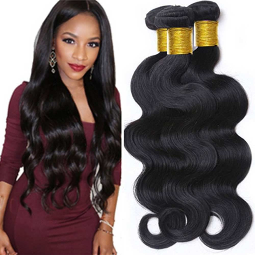 Harmony Hair Virgin Brazilian Hair Human Hair Weaves Body Wave 8 To