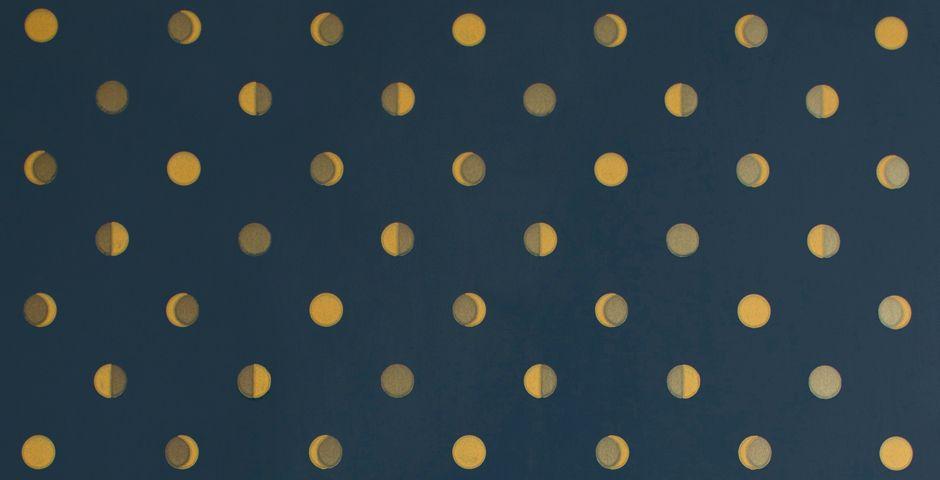 Papier peint « Croissants de lune » For the Home Pinterest - couleur fil electrique phase