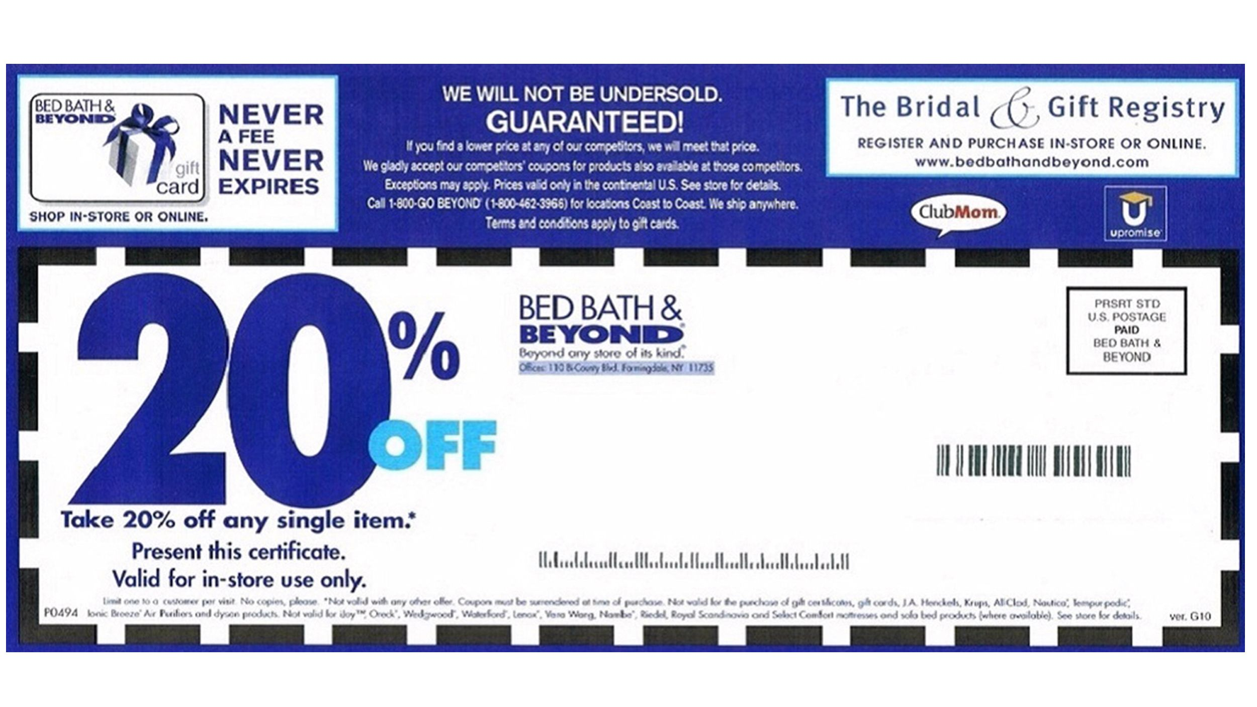 bed bath and beyond shop online coupons