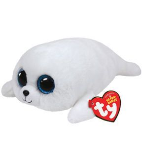 """ICY they white Seal plush TY Beanie Boos Regular 6/"""""""