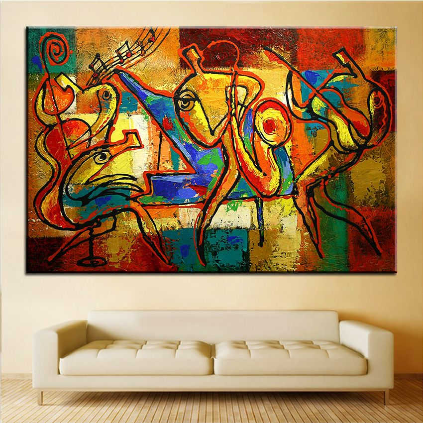 Large Size Printing Oil Painting Soul Jazz Wall Painting Home Decorative Wall Art Picture For Living Room Painting No Frame Jazz Art Jazz Painting Jazz Poster