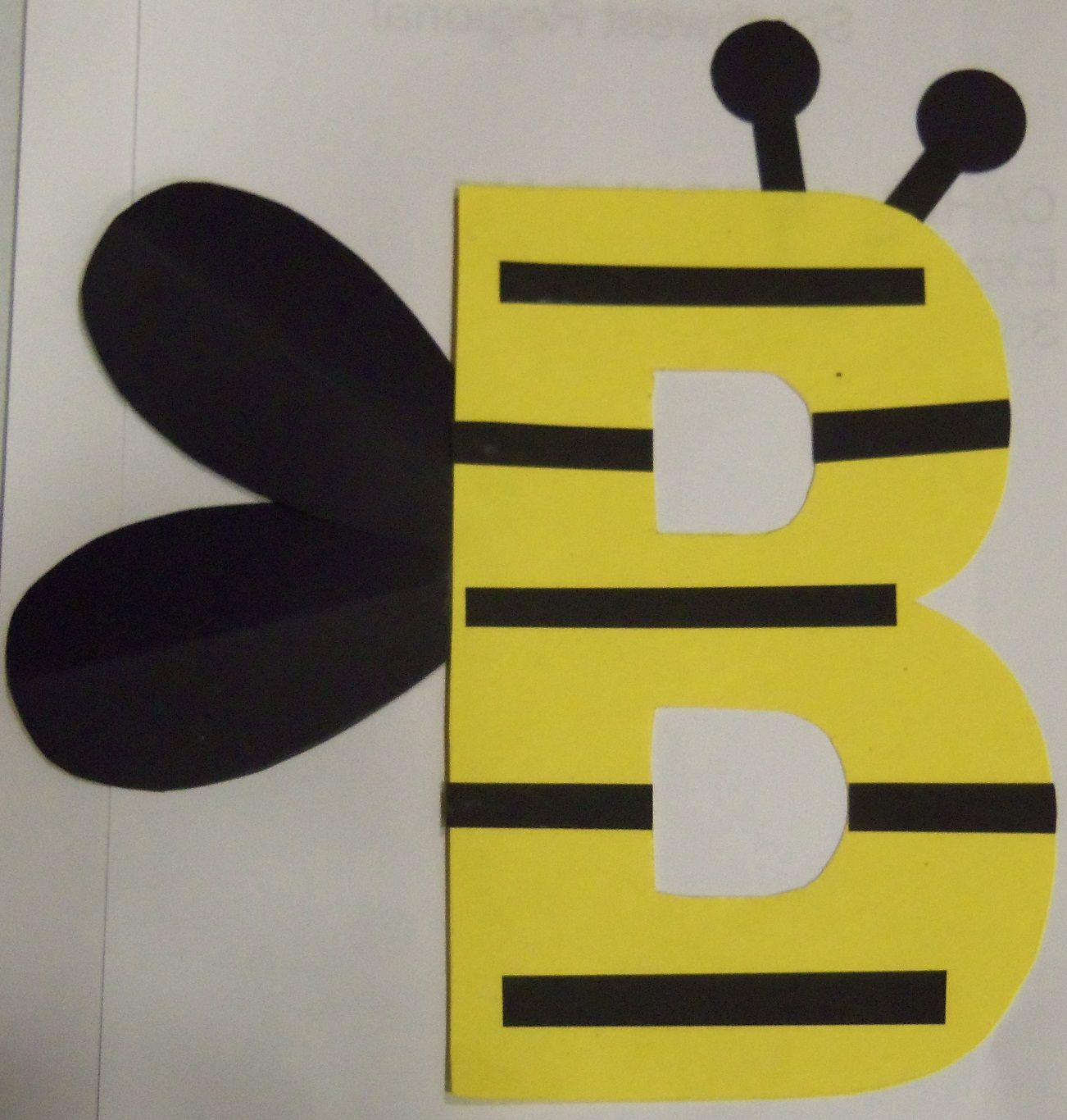 Craft bumble bee - Craft Monday B Is For Bumble Bee Ms Patty