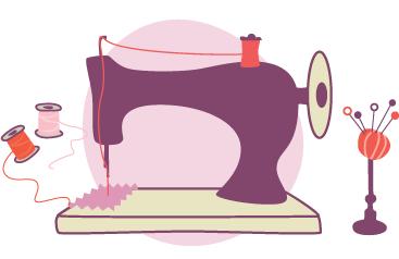 Resultado De Imagem Para Maquina De Costura Ilustracao Png