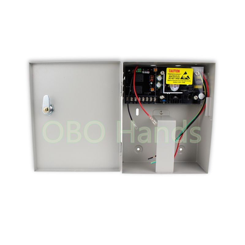 12v 5a Access Control System Power Supply Box Back Up Power Standby Power Supply For Access Control Access Control Access Control System System