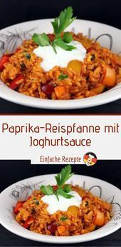 Photo of Bell pepper rice pan with yoghurt sauce Sprainnews 😍 – my blog