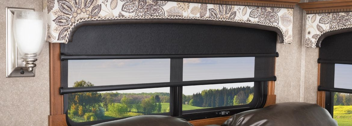 The 1 Rv Roller Shades Manufacturer Mcd Innovations In 2020 Roller Shades Rv Curtains Sale Windows