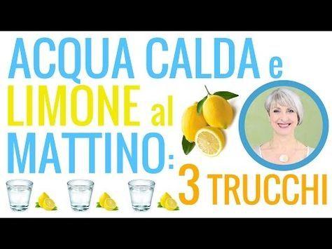 limone in acqua calda per perdere peso
