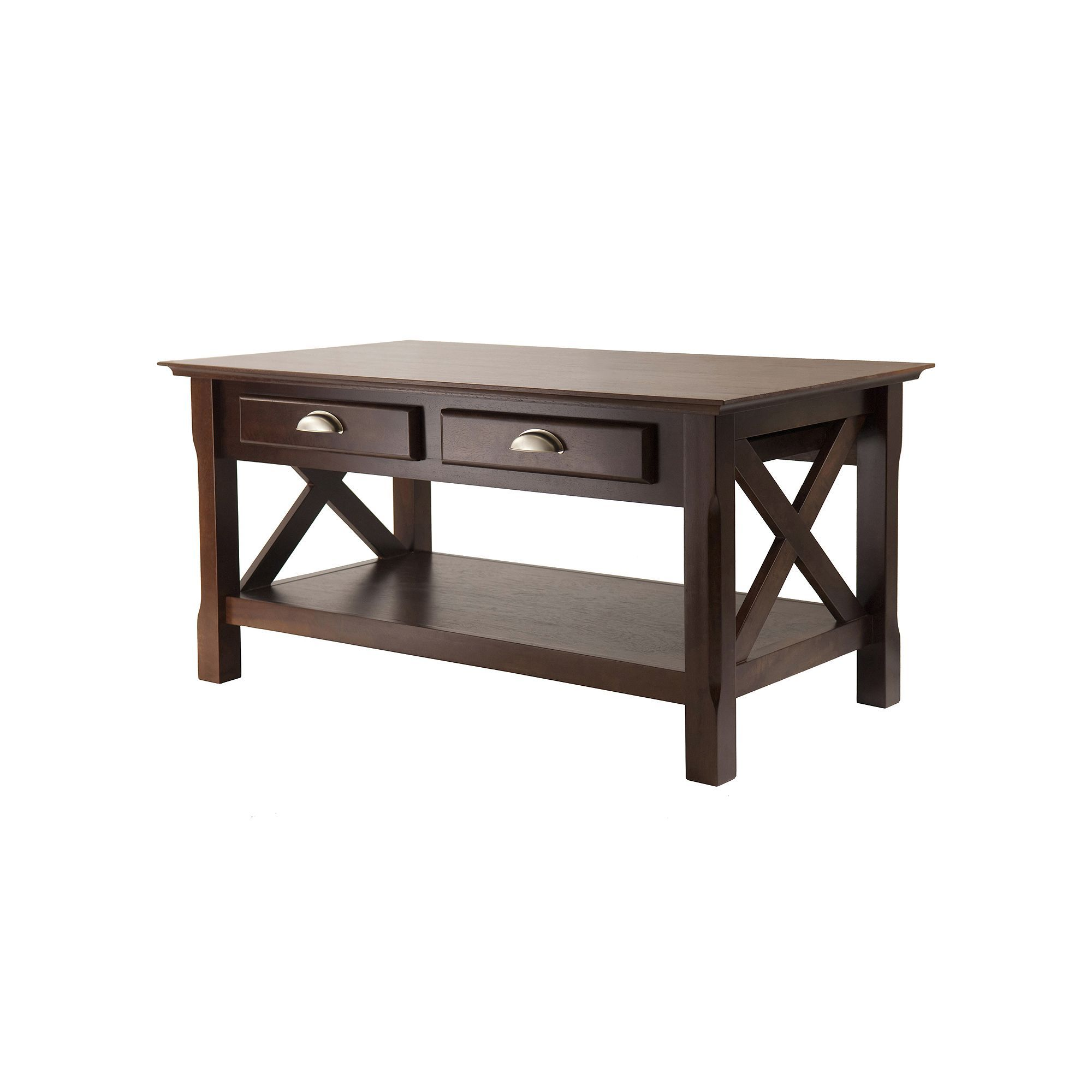 Winsome xola coffee table brown products pinterest table