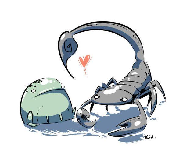 Лягушка и скорпион картинки