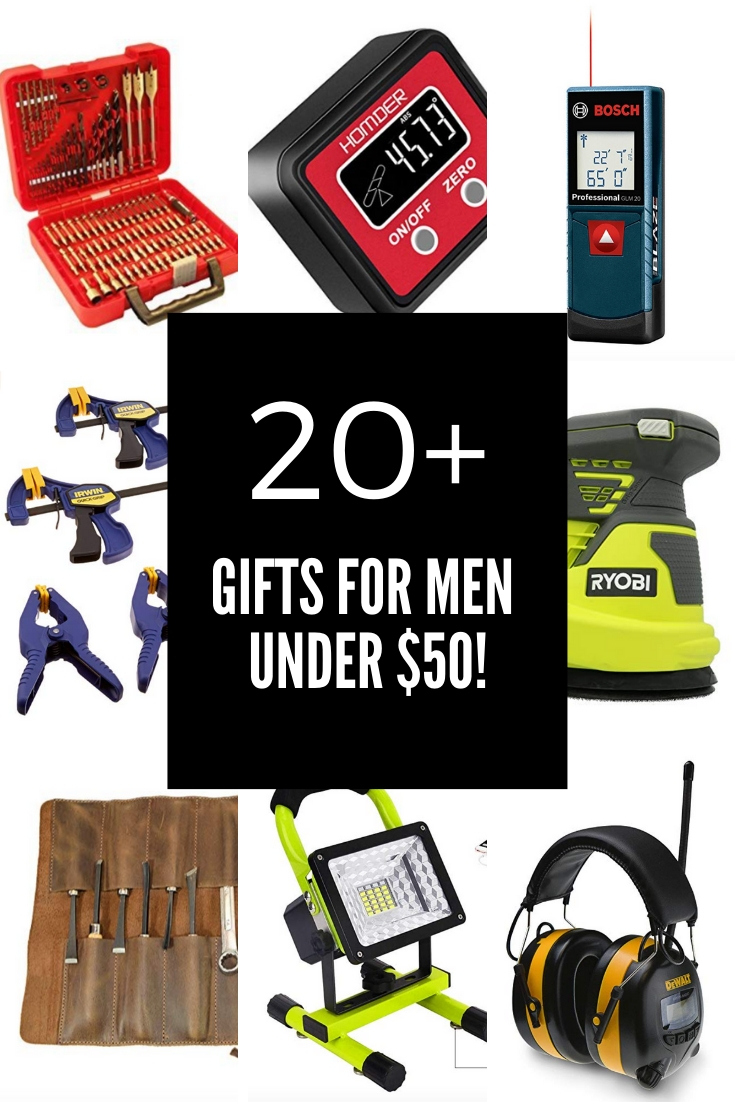 20+ Gifts for Men Under 50 Diy gifts for men, Gifts