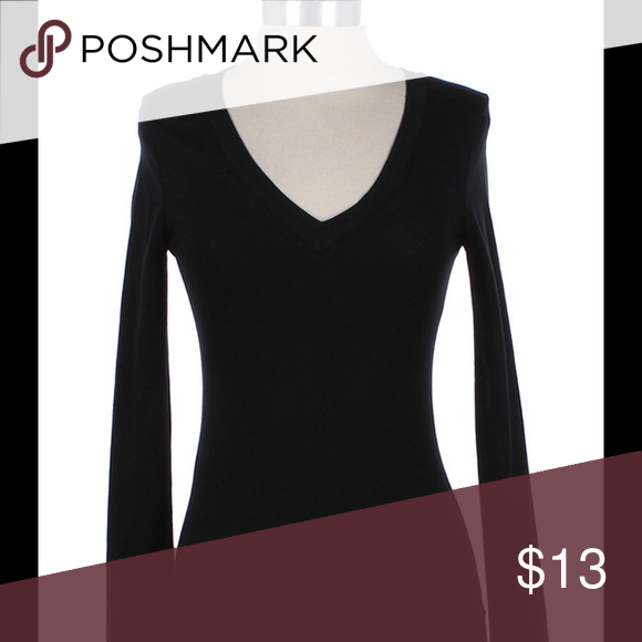 Women plain v neck long sleeve. Unused with tag Anywhere in the U.S. 3 to 5 business days OLM Tops Tees - Long Sleeve