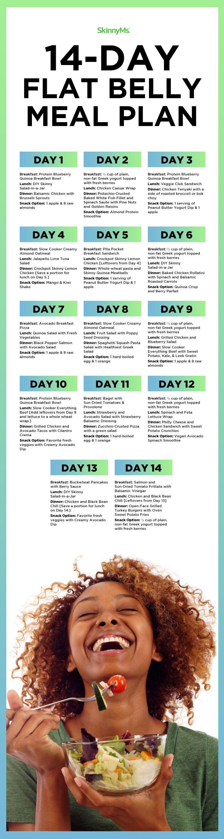 a 14 day diet