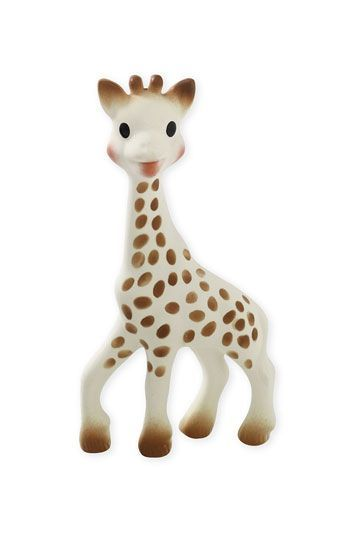 Ever wonder why this petite Giraffe is in the hands/mouths of every baby? Read about Sophie's history + benefits here!