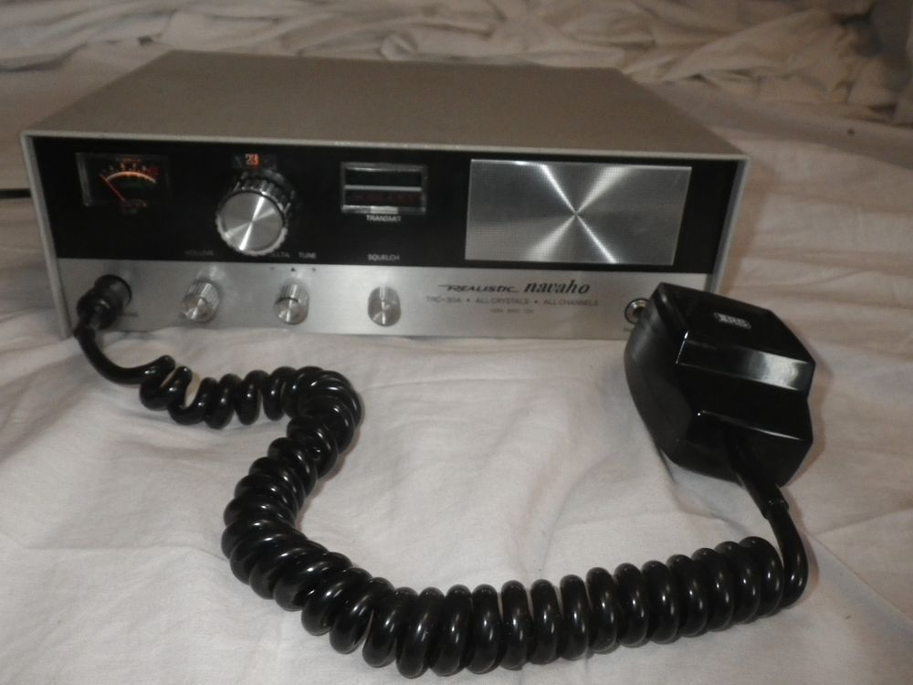 Realistic Navaho CB Radio Base Station Model TRC-30A 23