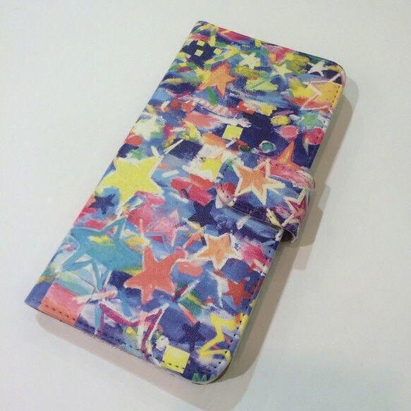 MAYUのアートがスマホケースになりました!!オリジナルプリントケースです!ヌメ革風のきめ細かい風合いで、同色の内側には、カードポケットが2ヶ所、収納ポケット...|ハンドメイド、手作り、手仕事品の通販・販売・購入ならCreema。