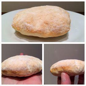 pan de pita sin gluten paso a paso