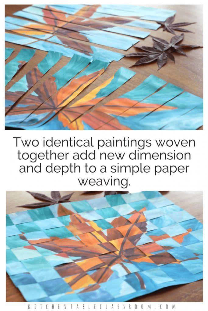 Das Weben von Papier ist eine grundlegende Fähigkeit, die zählt, aber kein Scherz ist ... #weaving