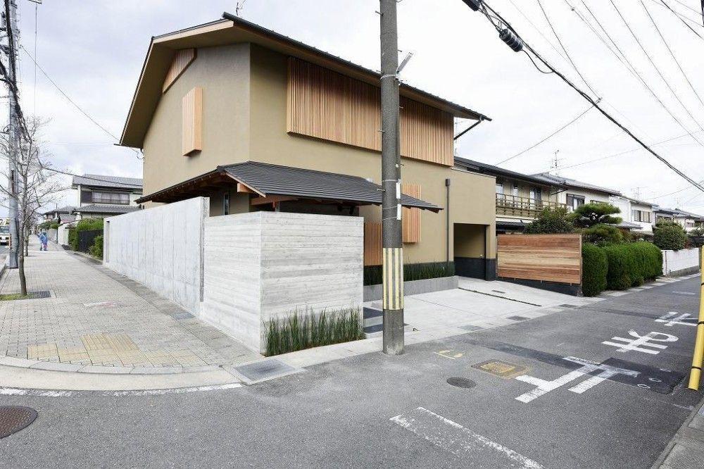 中庭のある家 現代京町家 注文住宅事例 リノベーション
