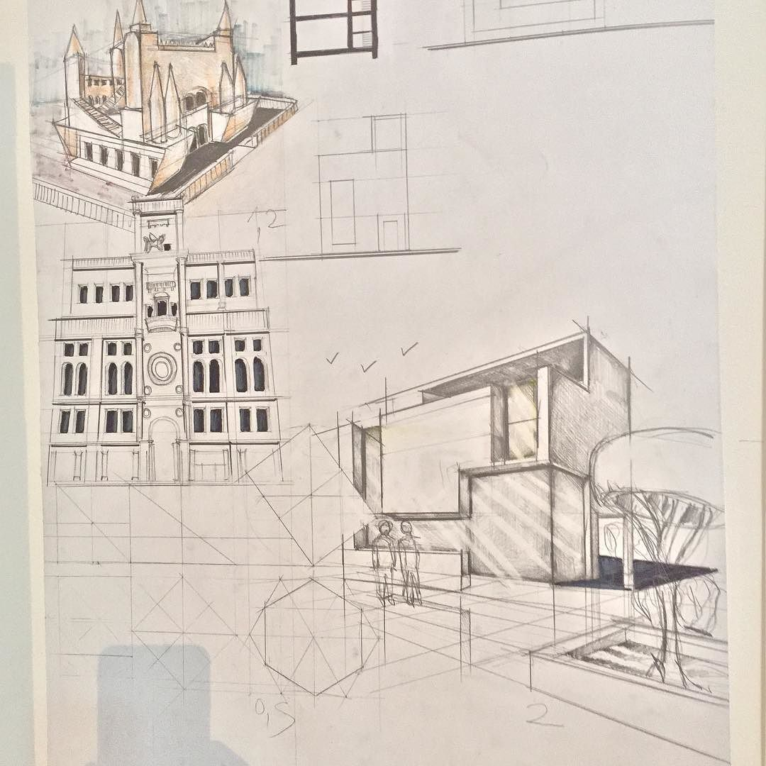 Architect Design Drawing design #drawing #architecture #art #sketching #buildings