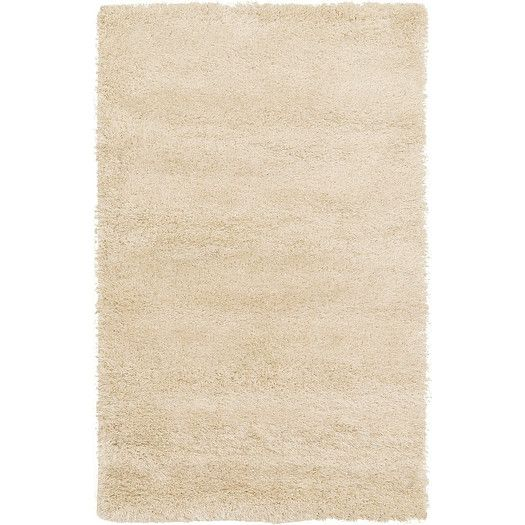 Unique Loom Luxe Solo Ivory Area Rug | AllModern