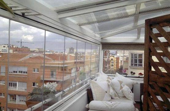 Cerrar tico con techo y acristalamiento terraza for Cerramiento terraza cristal precio
