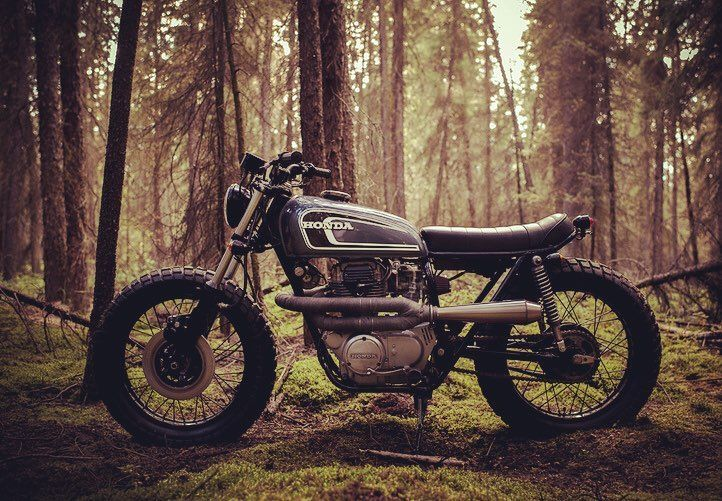 The Couch Surfer 1974 CB360 Scrambler By Federalmoto Of Western Canada