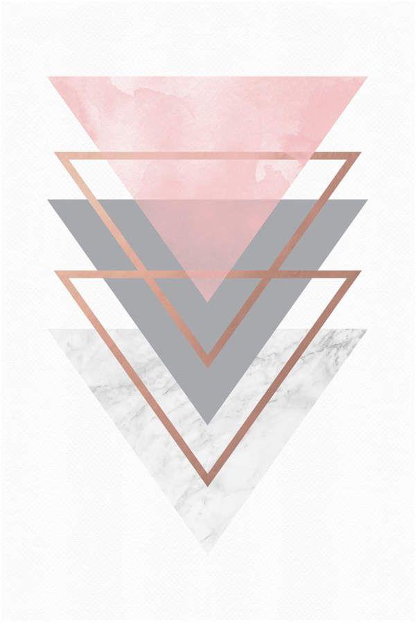 Visionary Prints Geometric Marble (Print) #Prints#Visionary#Geometric