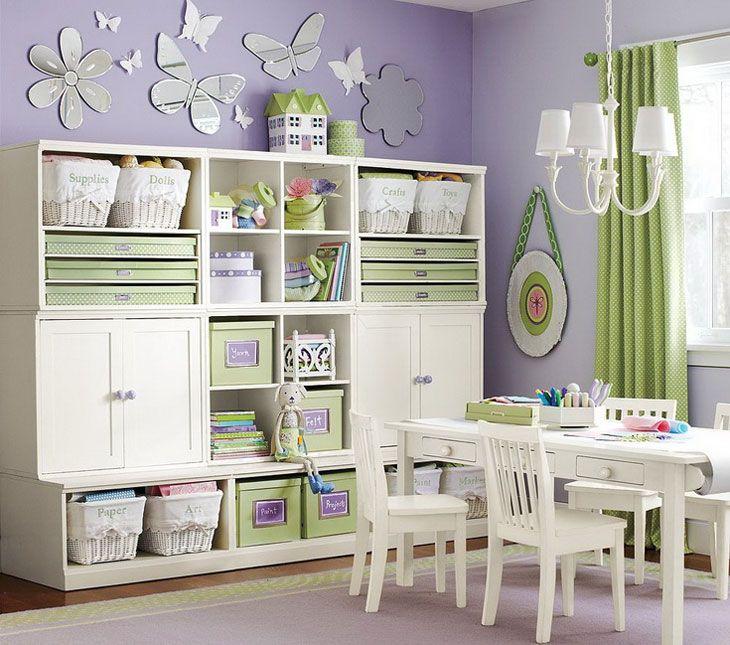 Childrens Rooms shelves_in_childrens_room (730×645) | children's bedrooms