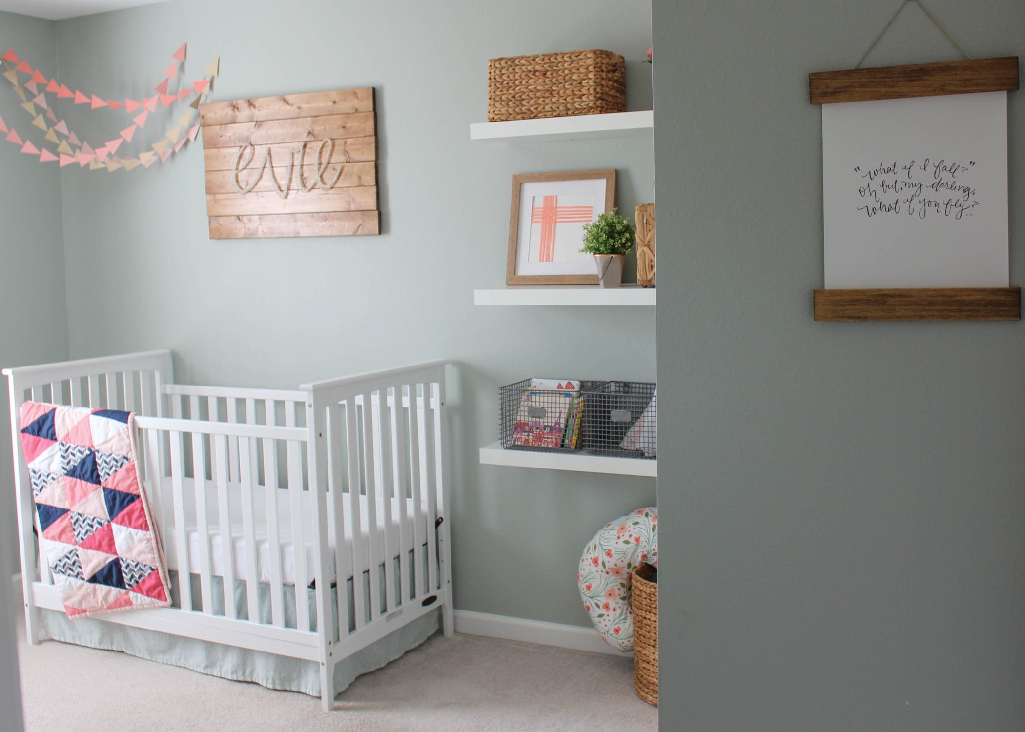 Evie39s Rustic Glam Nursery Ideas For Baby Voss